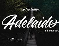 Adelaide Font - Free Brush Script
