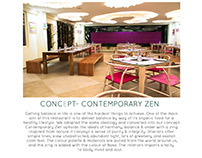 CONCEPT- CONTEMPORARY ZEN