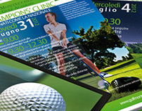 flyer and poster for golf club ( 9-2012 )
