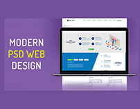 Modern PSD Web Template for Panda Inspection
