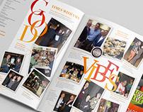Magazine Cover and Spread Design Spring 2017