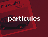PARTICULES / Edition