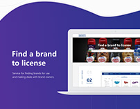 Mickey / Web service for finding a brand to license