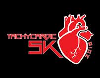 Tachycardic 5K logo design