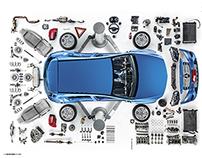 Quatro Rodas • Desmonte Mercedes A200