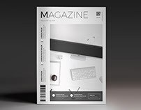 Creative Magazine Cover Template