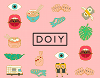 DOIY Metal Pins Pinaholic #Ilovetrends #doiydesign