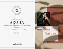 Aroha Animated Shadows & Mockup Creator