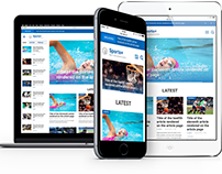 Sports+, for sports, news and magazine Drupal sites