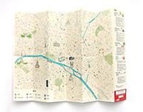 Paris map design
