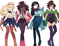 FLAVOR GIRLS / CHARACTERS