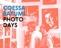 Odessa / Batumi Photo Days branding concept