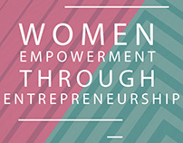 Brochure on Women Empowerment Through Entrepreneurship