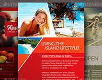 Lifestyle Flyer Template Bundle