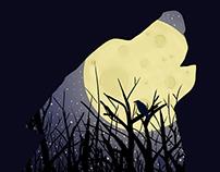 Le loup de la lune
