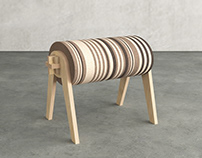 SLICED STOOL
