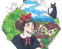 Studio Ghibli Fanart
