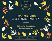 Autumn Party | Modern and Creative Templates Suite