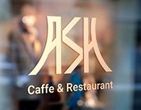 ASH caffe & restuarnt logo