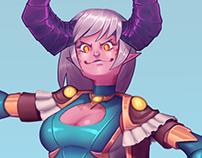 Magical Demon Girl