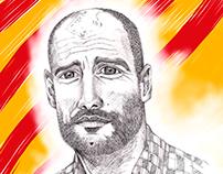 Portrait Pep Guardiola