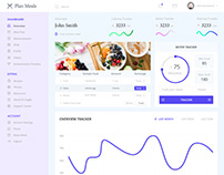 Meal Plan Web App Design