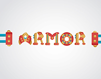 Armor Typography