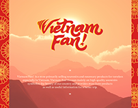 VIETNAM FAN! Logo & Branding Materials