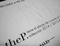Masculino/Femenino Invitations - TheP.