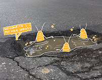 Time of Malta Pot-Hole Illustration Project