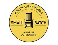 Porch Light Vodka Badge Design