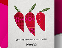 Nando's Christmas Card