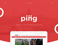 Ping News Multipurpose PSD Theme