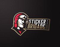 De Sticker Brigade! | Logo
