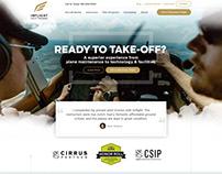 Flight Homepage Website