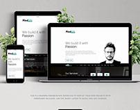 Responsive portfolio website
