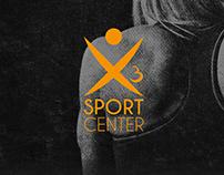 Branding | x3 Sport Center