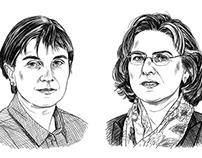 NZZ Geschichte / spot portraits