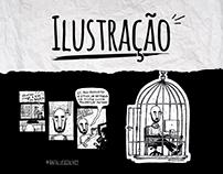 Ilustrações e Tirinhas - Part. 1