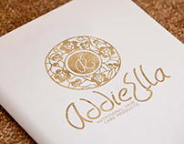 Logo for AddieElla - nutrition skin care products