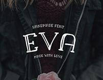 EVA - FREE HANDMADE FONT