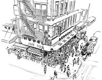 New York sketchbook - Travel diaries moleskine