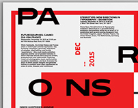 Parsons New School for Design: Weekly Events