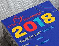 "Tessera Associativa ""Cral Tecnocap 2018"""