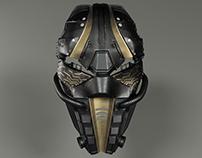3D Jedi Cyber Mask