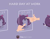 Hard day at work