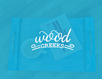 WoodG'r'eeks - handcrafted wooden products | Branding