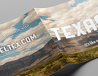 Texas Travel Brochure (Student Work)