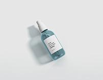 Mini Spray Bottle Mockup