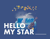 Theme Project for SK Telecom - Hello My Star